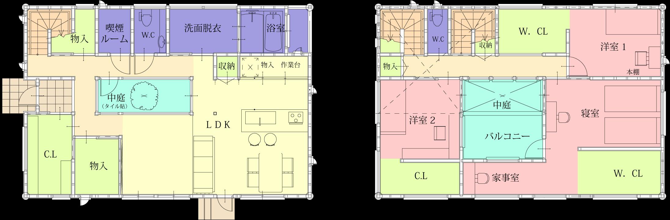 家の間取り | 安城市注文住宅