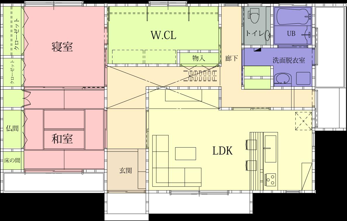 家の間取り | 豊田市注文住宅