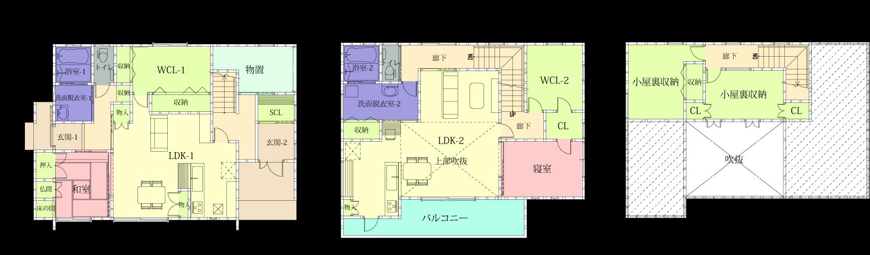 家の間取り | 刈谷市注文住宅